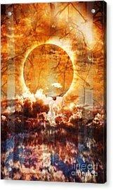 Swamp Moon Acrylic Print