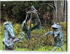 Swampland Critter Band 1 Acrylic Print by Al Powell Photography USA