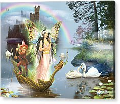 Swan Lake Fairy Acrylic Print