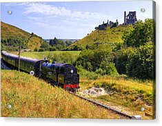 Swanage Steam Railway Acrylic Print