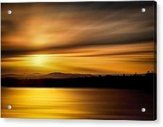 Swanson Lake Acrylic Print by Gary Smith