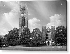 Swarthmore College Clothier Hall Acrylic Print by University Icons