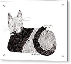 Sweater Cat Acrylic Print