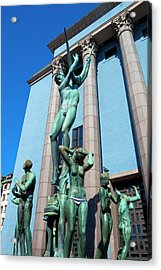 Sweden, Stockholm - The Concert Hall Acrylic Print by Panoramic Images