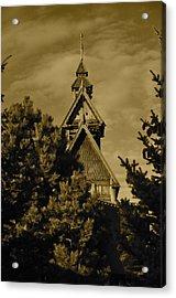 Swedish Church  Acrylic Print
