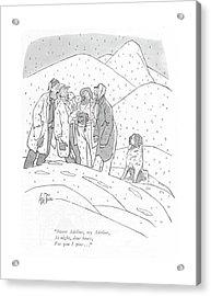 Sweet Adeline Acrylic Print by George Price