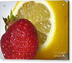 Acrylic Print featuring the photograph Sweet And Sour by Nina Silver
