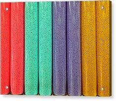 Sweet Colors Acrylic Print