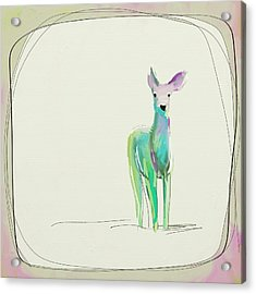 Sweet Deer Acrylic Print