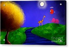 Sweet Dreams Acrylic Print by Anita Lewis