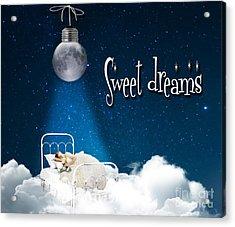 Sweet Dreams Acrylic Print by Juli Scalzi