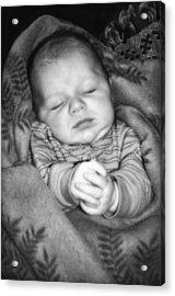 Sweet Dreams Acrylic Print by Susan Leggett