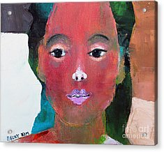 Sweet Face Acrylic Print