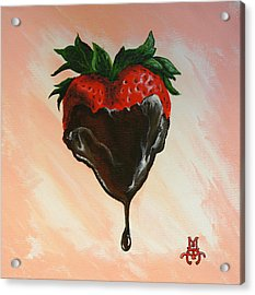 Sweet Heart Acrylic Print by Marco Antonio Aguilar
