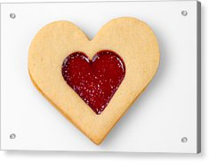 Sweet Heart - Symbol For Love Valentine Relationship Acrylic Print by Matthias Hauser