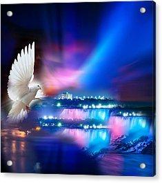 Sweet Holy Spirit Acrylic Print by Karen Showell
