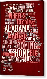 Sweet Home Alabama 4 Acrylic Print