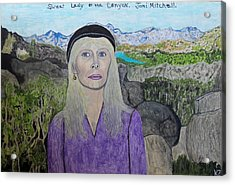 Sweet Lady Of The Canyon. Acrylic Print