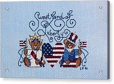 Sweet Liberty Acrylic Print by Linda Phelps