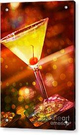 Sweet Martini  Acrylic Print by Erika Weber