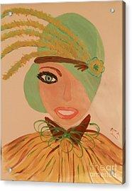 Sweet Mary Of The Sun Acrylic Print by Marie Bulger