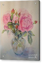 Sweet Moment Acrylic Print by Beatrice Cloake