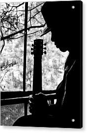 Sweet Music Man Acrylic Print by EG Kight
