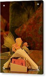 Sweet Nothings Acrylic Print by Vishakha Bhagat