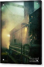 Sweet Steam Acrylic Print by Edward Fielding