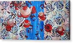 Acrylic Print featuring the painting Sweet -stuff by Anastasija Kraineva