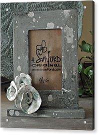 Sweet Sucrose Frame Acrylic Print by Amanda  Sanford