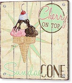 Sweet Treat Signs II Acrylic Print