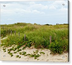 Sweetest Silence By The Sea Acrylic Print by Michelle Wiarda