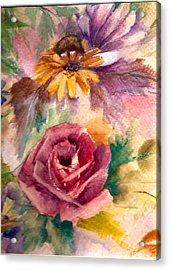 Acrylic Print featuring the painting Sweetness by Ellen Canfield
