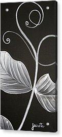 Sweetpea Vine Acrylic Print