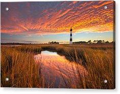 Swept Away - Bodie Island Lighthouse Acrylic Print