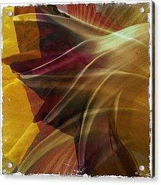 Swept Acrylic Print by Dorian Hill