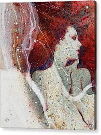Swept In A Bubbly Dream Acrylic Print
