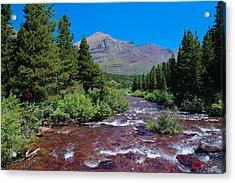 Swift Current River Acrylic Print