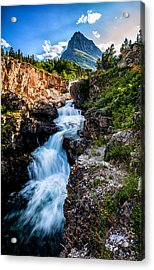 Swiftcurrent Falls Acrylic Print