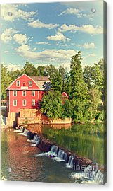 Swimming At War Eagle Acrylic Print by Robert Frederick