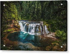Swimming Hole Acrylic Print by James Heckt