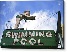 Swimming Pool Acrylic Print