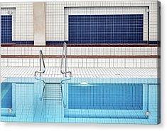 Swimming Acrylic Print by Renate Reichert
