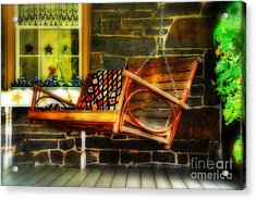 Swing Me Acrylic Print by Lois Bryan