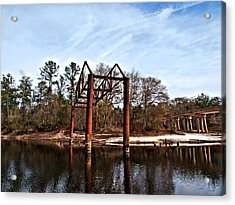 Acrylic Print featuring the photograph Swing Set by Laura Ragland