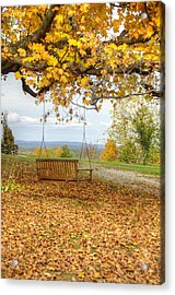 Swing With A View Acrylic Print