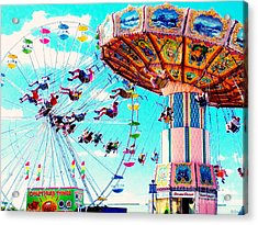 Swingers Have More Fun Acrylic Print