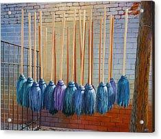 Swinging Blues Acrylic Print by Sue  Darius