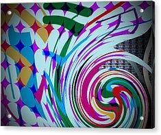 Swirl Acrylic Print by Kelly McManus